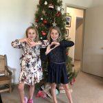 A en J op kerstavond 2018
